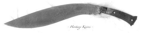 unique kukri from france.  John Powell knife Heritage Knives Nepal Khukuri history and heritage. Image, photo, articles, book, research, antiques, reproduction, gurkha rifles, gorkha regiment, british army, indian military, nepal army, world war 1, 2. WW1, WW2, JP. kilatools. 19th and 20th century issue, traditional kothimora. Bushcraft, utility, camping, manufacturer, producer, retail, seller, export of high quality blades genuine authentic gurkha knife, antique viking himalayas.